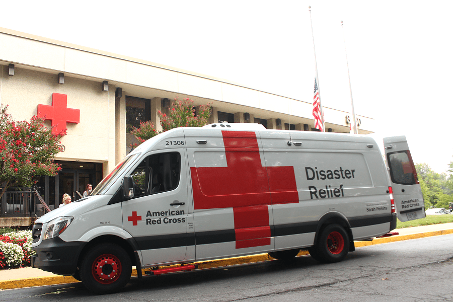 Red cross disaster relief facts