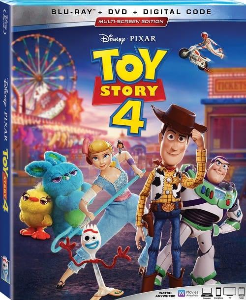 Toy story 4 bonus features
