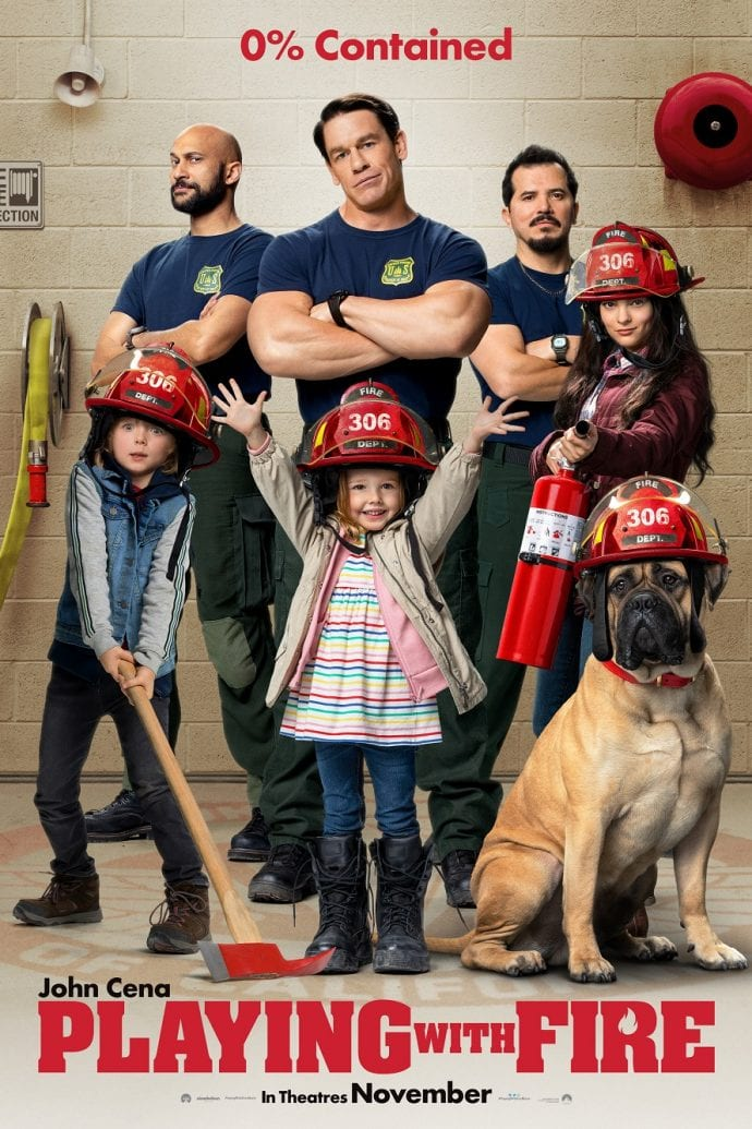 Playing with fire movie review safe for kids