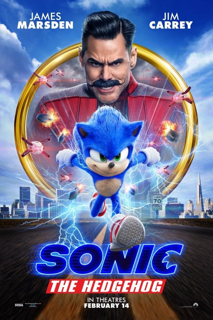Sonic the hedgehog movie review safe for kids