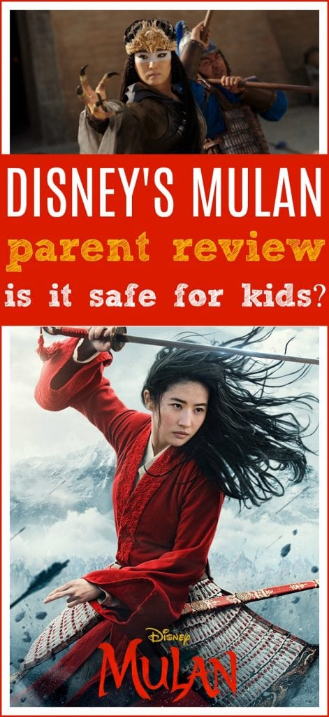 Mulan movie age recommendation