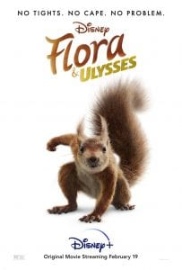 Flora and Ulysses movie review safe for kids