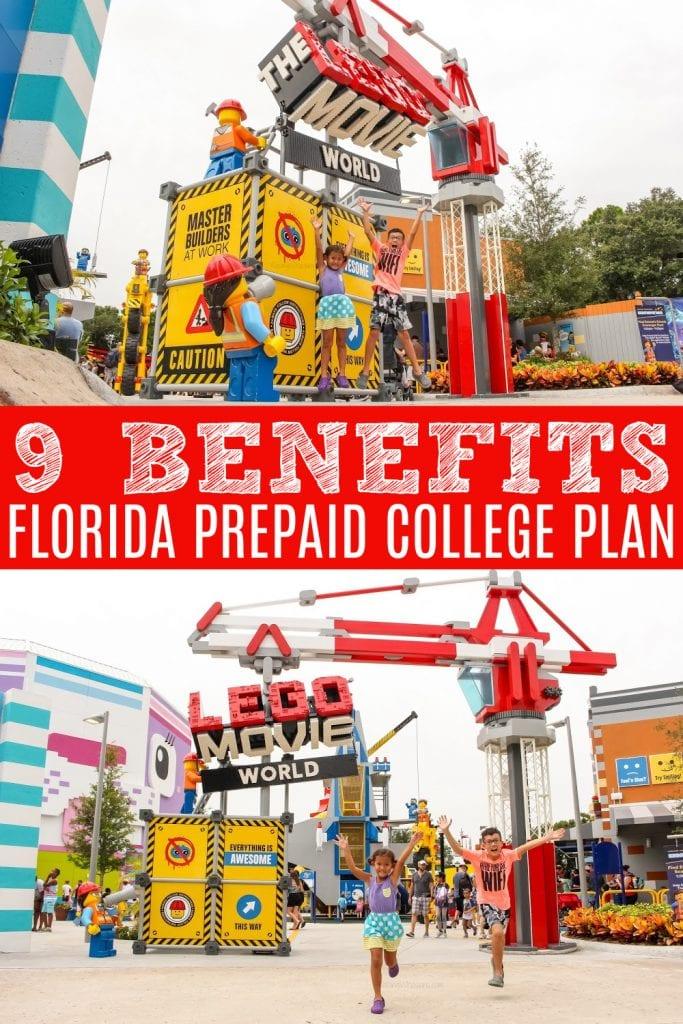 Prepaid college plan benefits