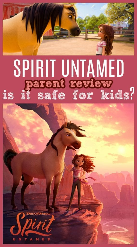Spirit untamed movie review for parents