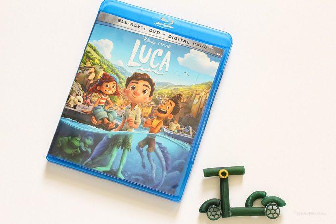 Pixar Luca craft