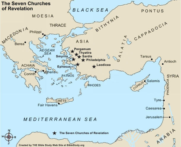 Today Map Lands Bible