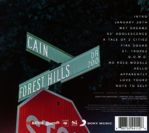 Friday Night Lights J Cole Tracklist