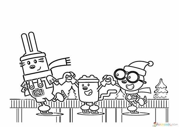 wow wow wubbzy coloring pages # 30
