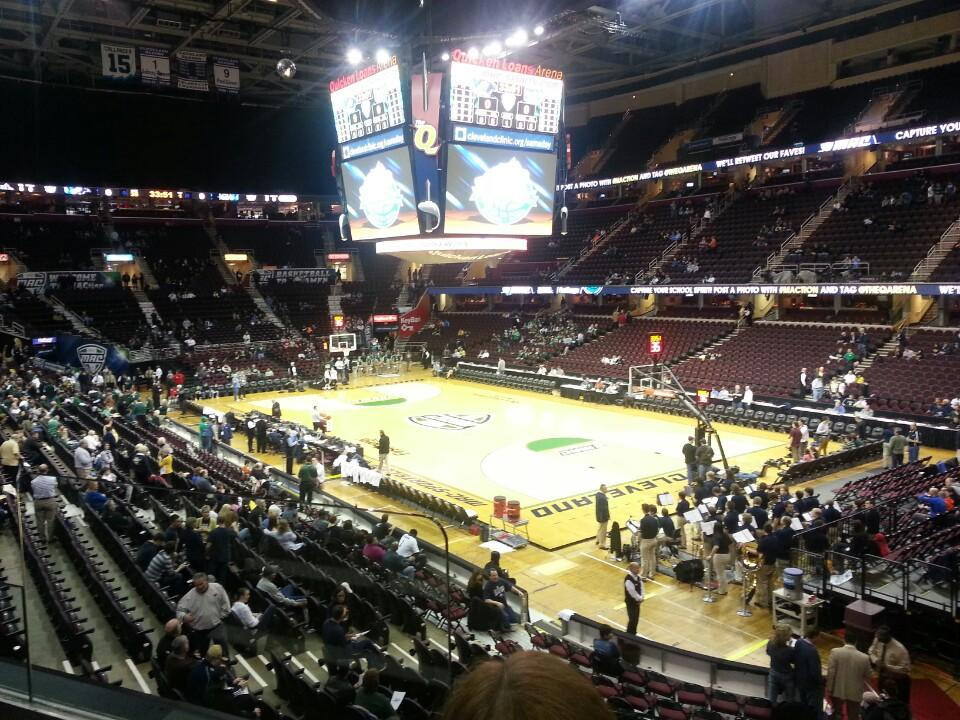 Quicken Loans Arena Section 128 Cleveland Cavaliers