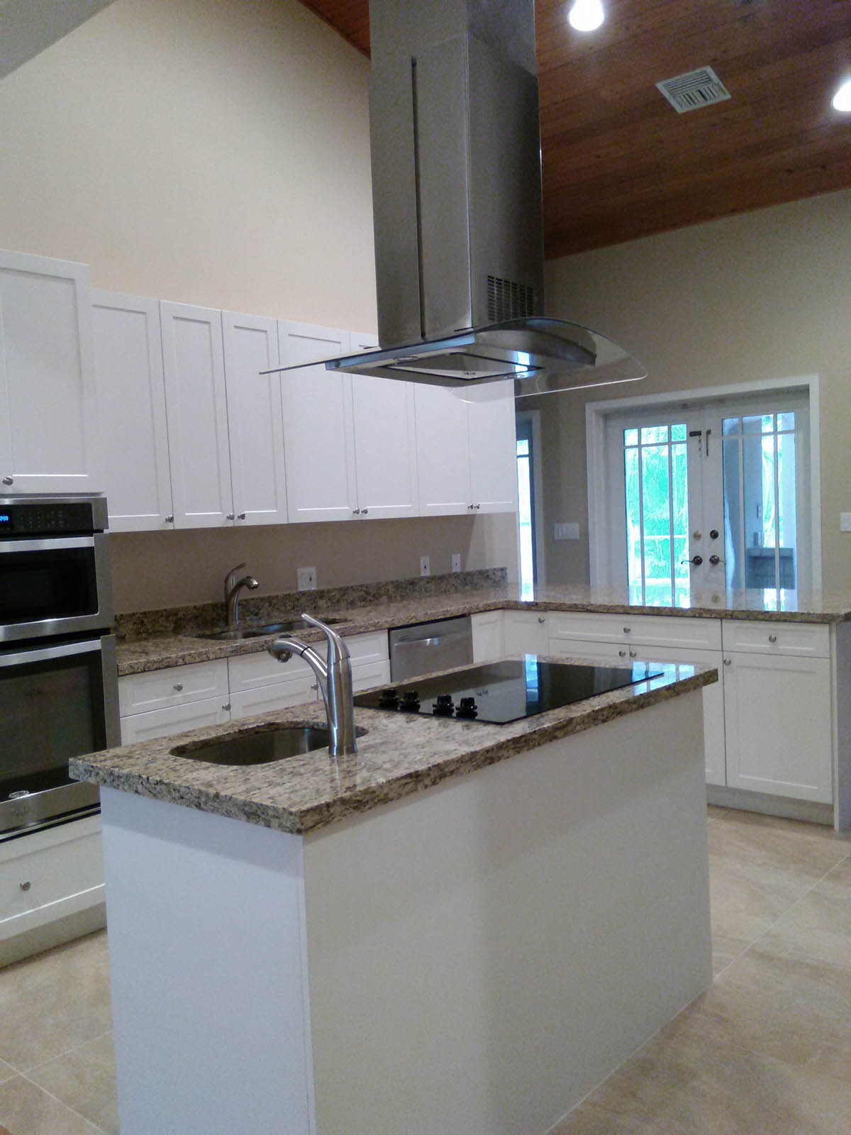 G Shaped Kitchen Layout With Island Miami General Contractor