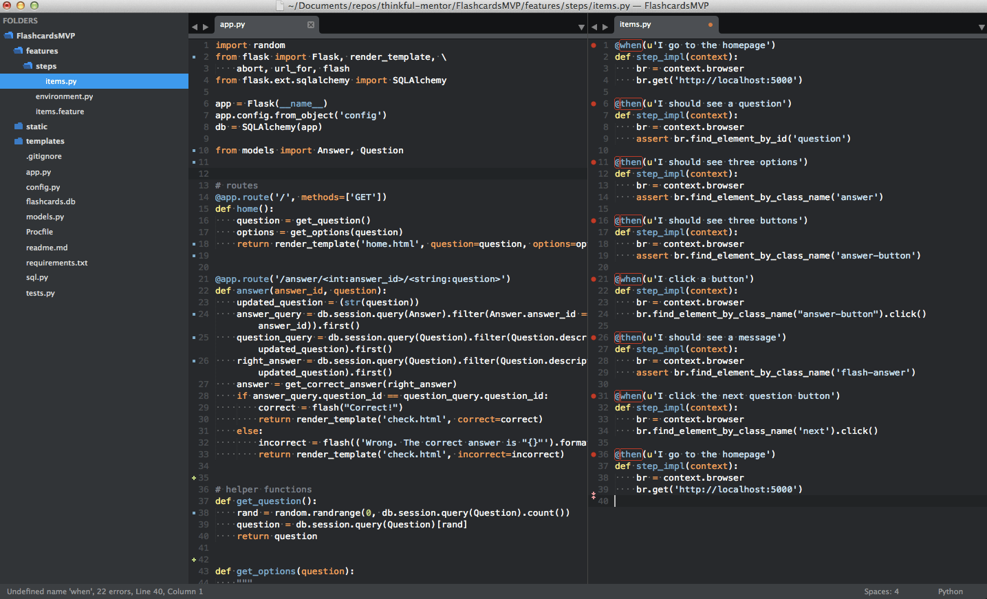 Setting up Sublime Text 3 for Full Stack Python ...