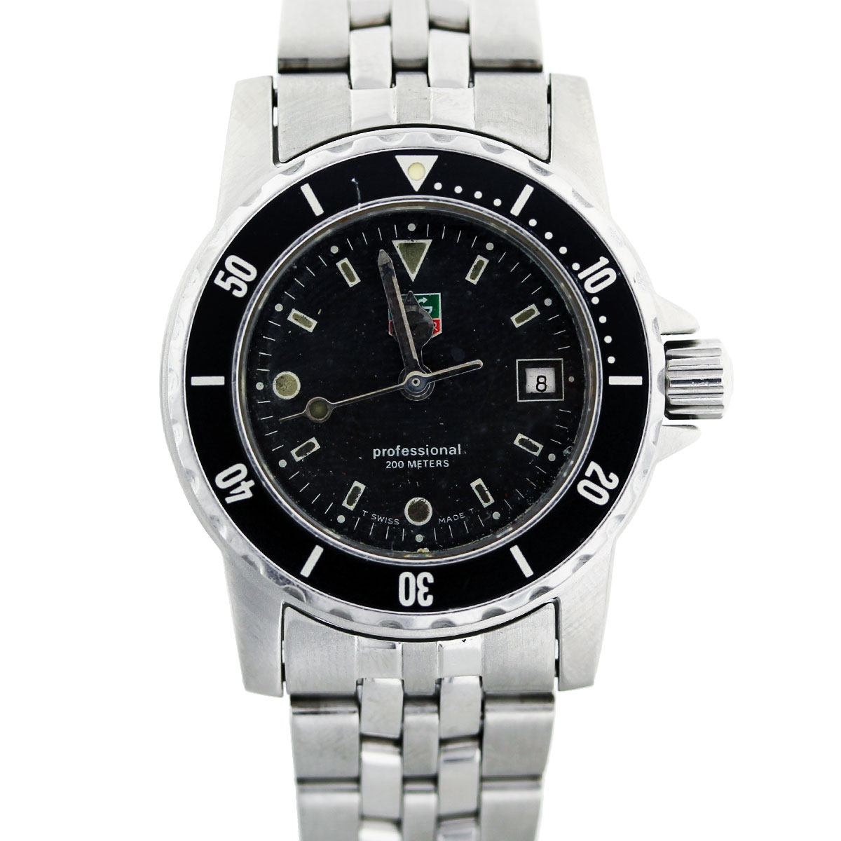 Tag Heuer Professional WD1410 Stainless Steel Ladies Watch
