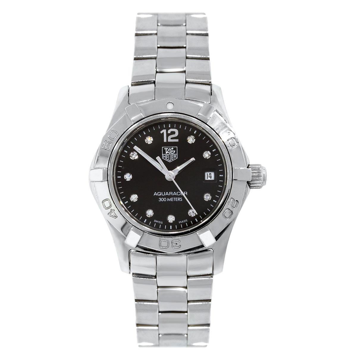 Tag Heuer WAF141C Aquaracer Diamond Dial Ladies Watch