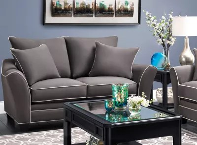 Sofas   Sectionals   Living Room Furniture   Raymour   Flanigan Loveseats