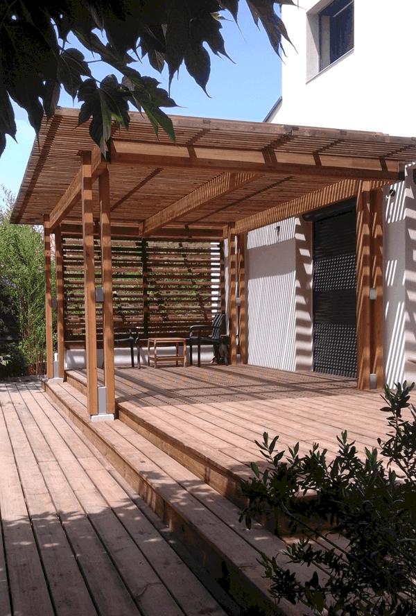 Constructeur De Auvent Pergola Bois Montpellier