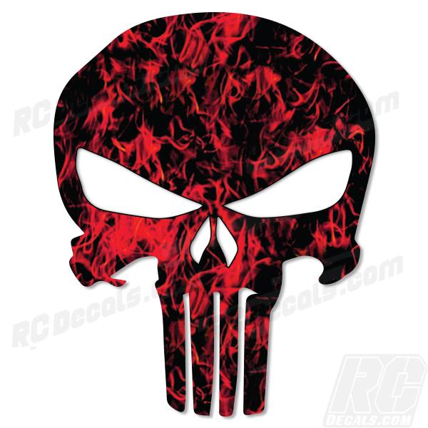 Skull Punisher Sticker Decal