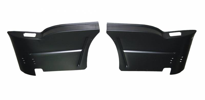 Gm 1955 57 Chevy 2 Door Hardtop Rear Armrest Bases Pair