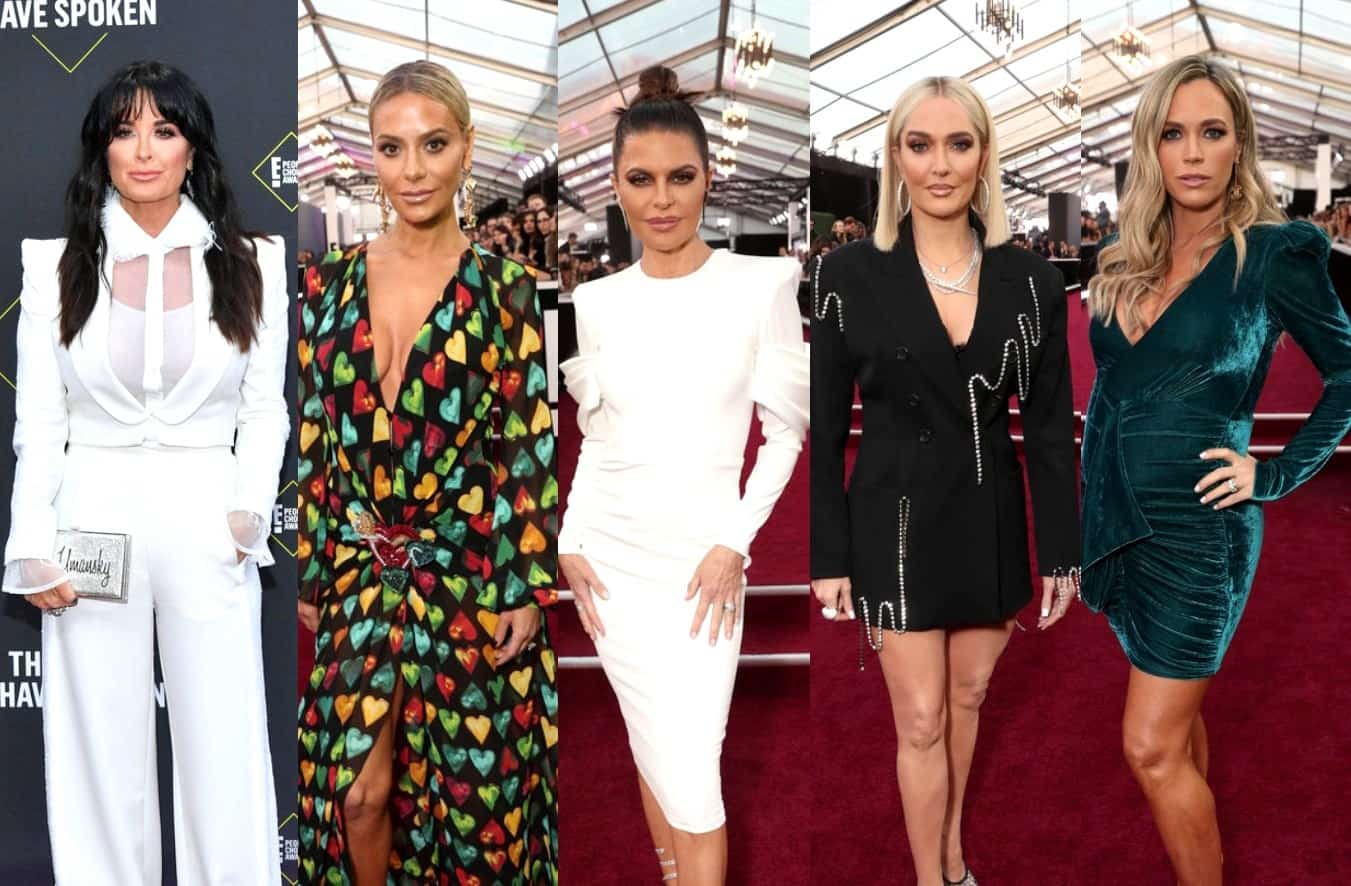 PHOTOS: See RHOBH Cast at 2019 E! People's Choice Awards, Did They Win?