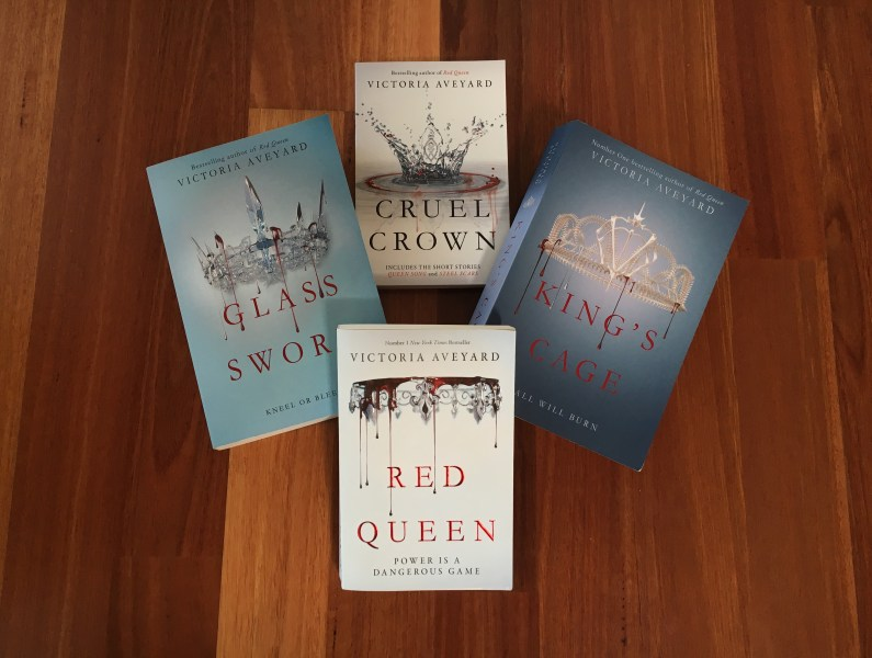 Book Review  Red Queen Series  so far  by Victoria Aveyard     Rebecca     Am I happy I persevered enough to read all four