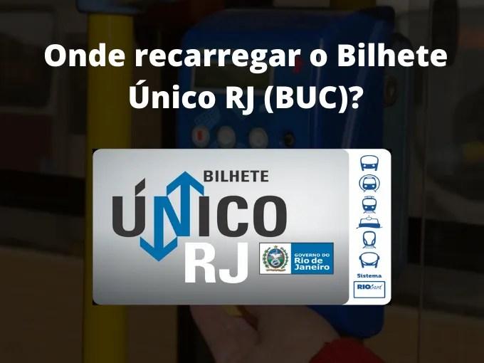 Carregue seu Bilhete Unico RJ