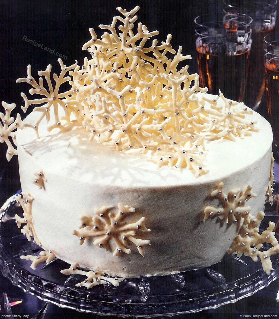 Lemon Snowflake Cake Recipe Recipeland Com