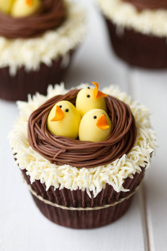 Easter Rabbit Cake Cupcakes
