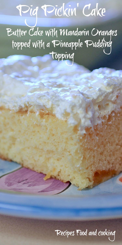 Pineapple Pineapple Crushed Cake