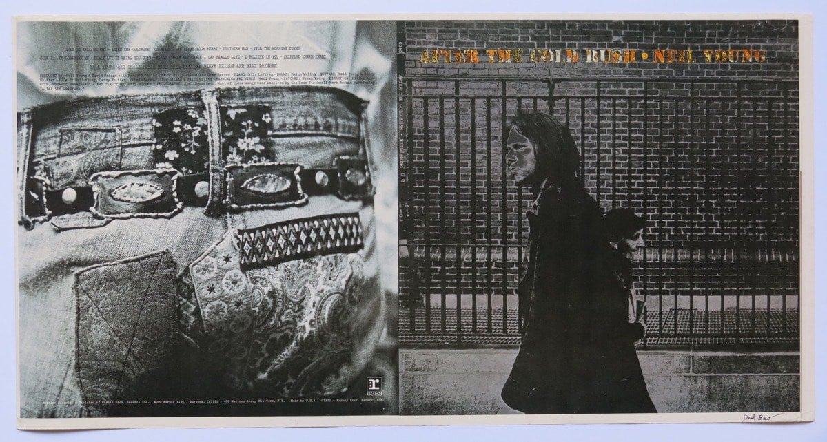 Neil Young 1970 After The Gold Rush Album Cover Proof