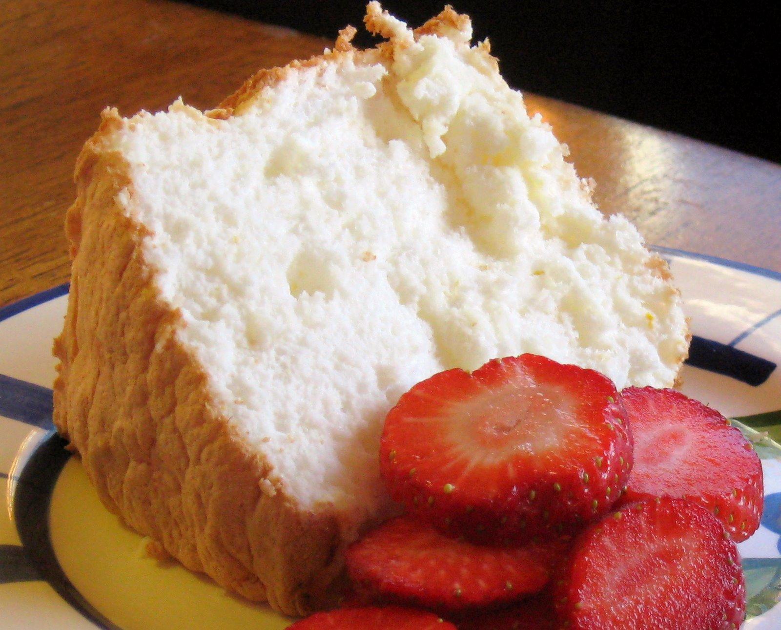 Gluten Free Lemon Angel Food Cake Recipe