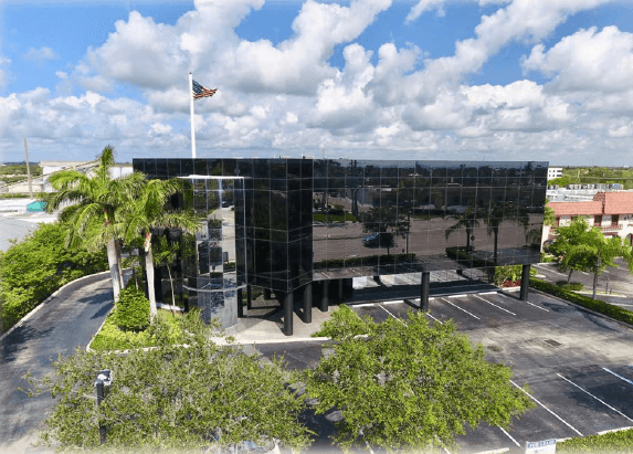 Tequesta Office Building Overhead Views