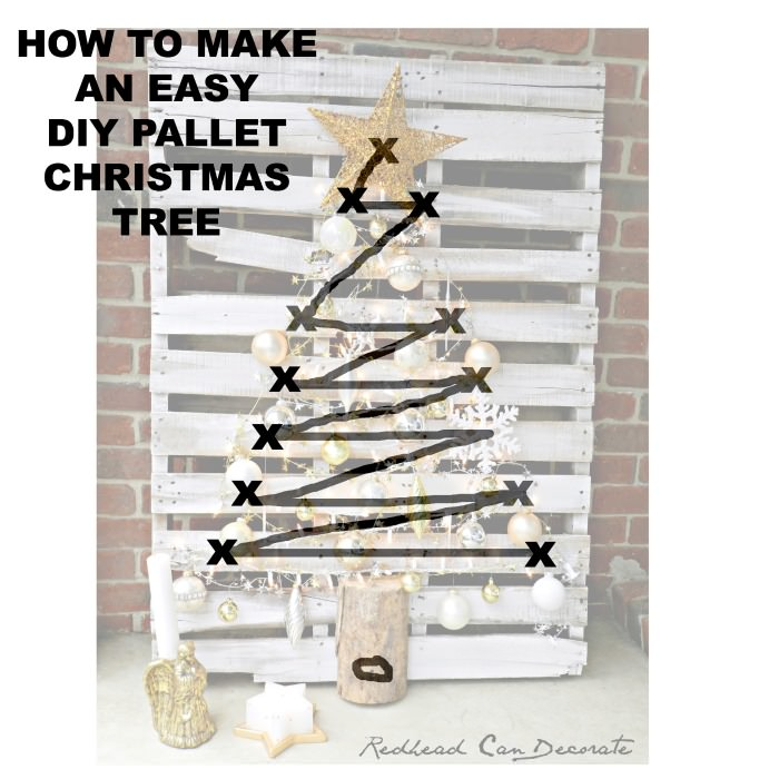 Make Christmas Tree Out Lights