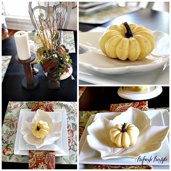 Better Gardens Leaf Fall Homes Dinnerware And