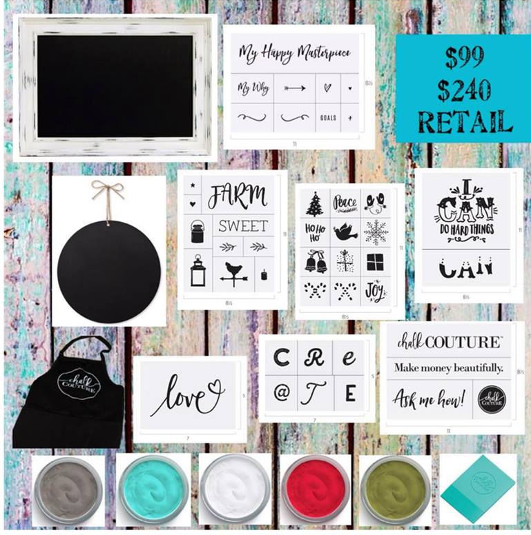 Chalk Couture Create Your Own Chalkboard Art Refresh