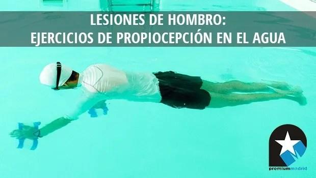 Lesiones de hombro ejercicios de propiocepci n en el agua for Ejercicios en la piscina