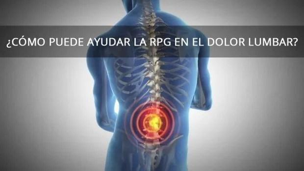 Cómo puede ayudar la RPG en el dolor lumbar? - Rehabilitación ...