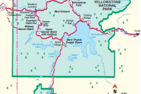 yellowstone national park us map » 4K Pictures | 4K Pictures [Full ...