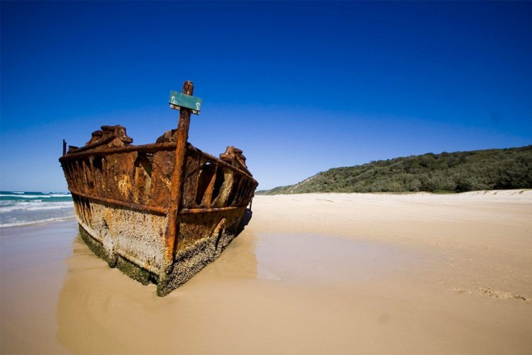 Fraser Island in Australië © Lucy Brooks