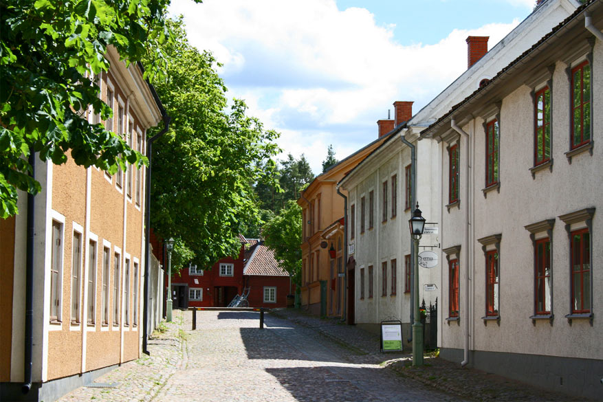 Kuieren door de oude straatjes van Linköping. © David Hall via Flickr Creative Commons