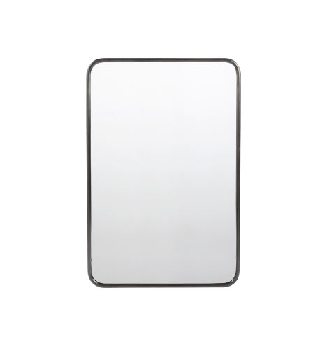 """20"""" x 30"""" Metal Framed Mirror - Rounded Rectangle ..."""