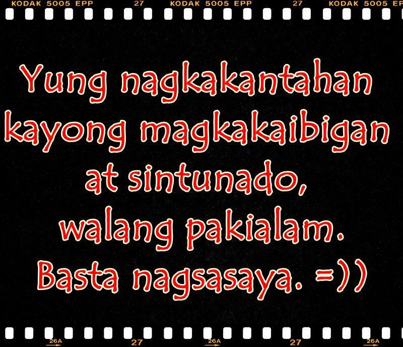 Sa Tunay Quotes Kaibigan Para Tagalog Na