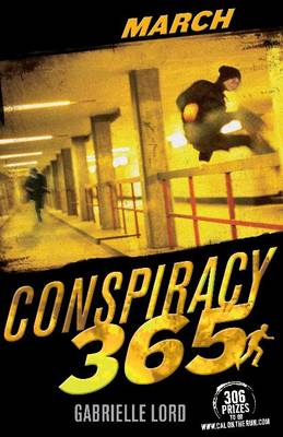 Book Review Conspiracy 365 March Gabrielle Lord The