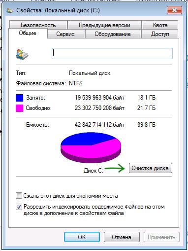 Thuộc tính đĩa cứng trong Windows