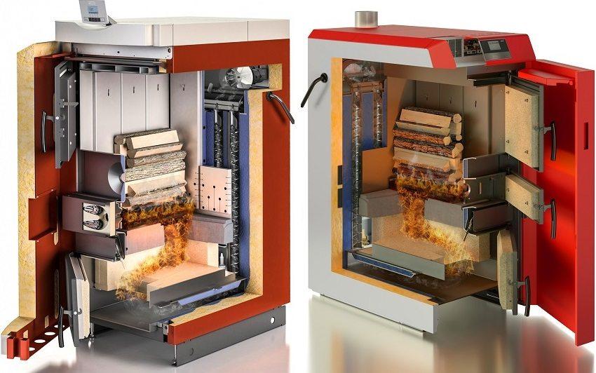 Perangkat boiler pada bahan bakar padat
