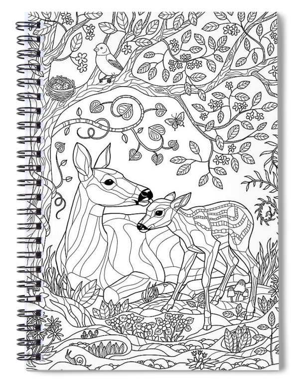 forest coloring page # 49