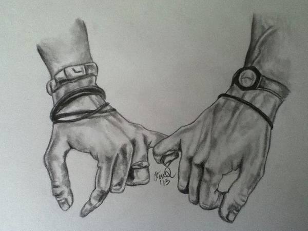 Finger Pinky Drawing Promise
