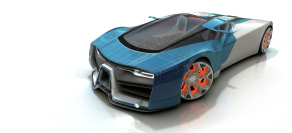 MODELING A SPORTS CAR USING RHINO  3D    Render Demo     PRO 1 7