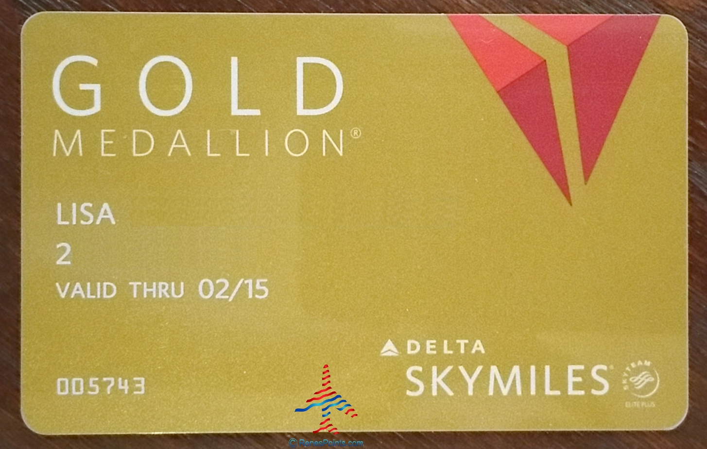 Gold Medallion Delta