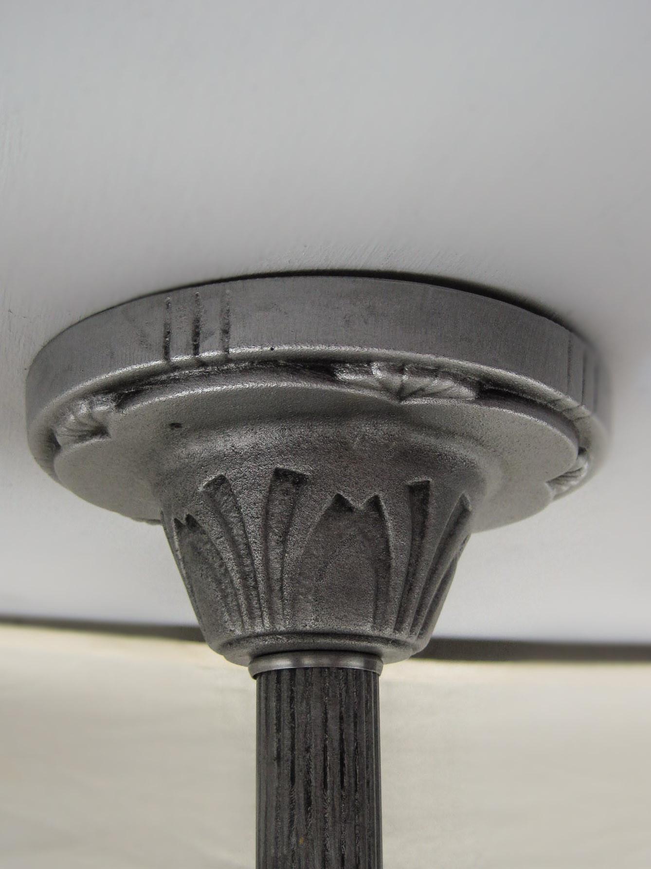 Art Deco Flush Mount 5 Light 3 Light