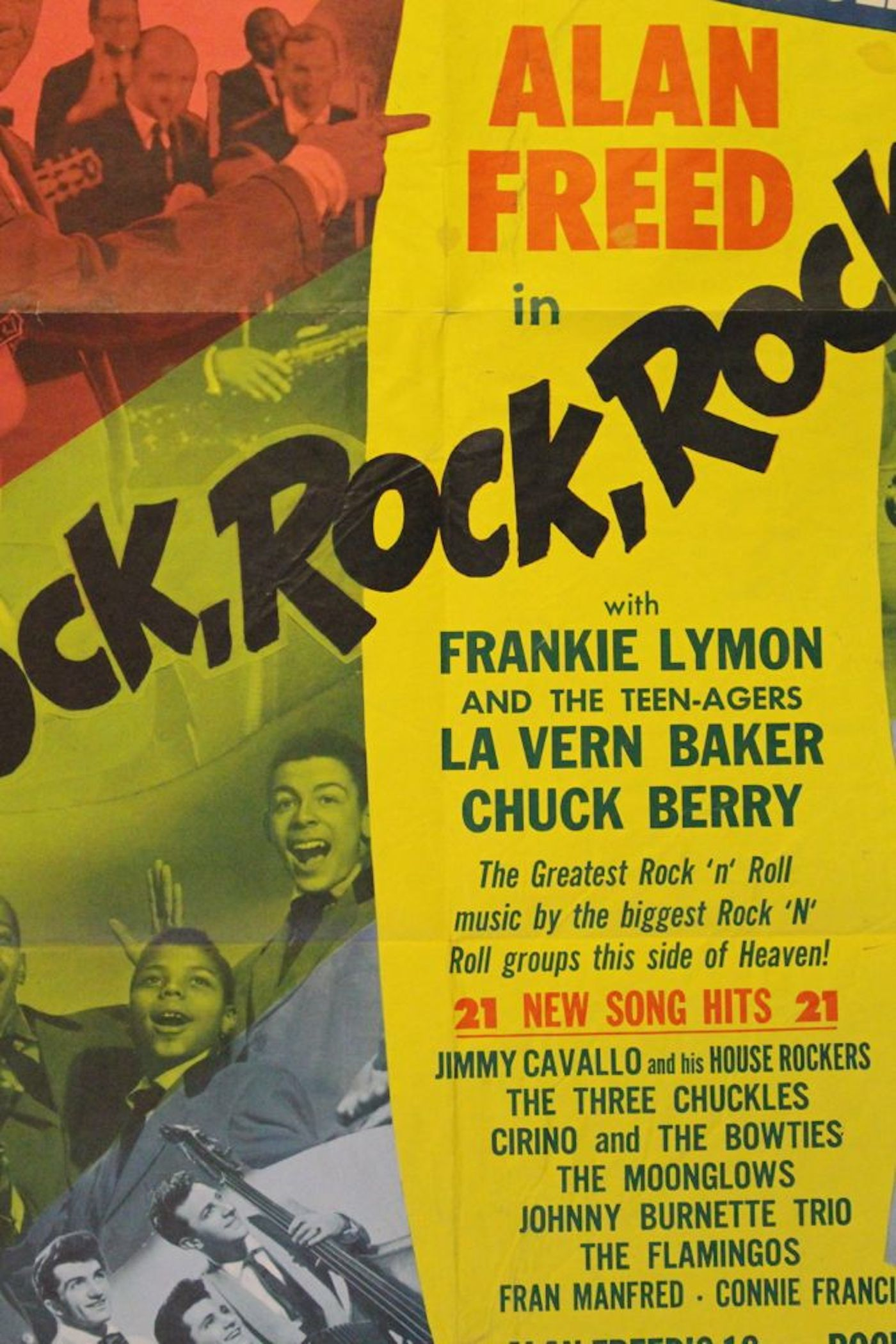 Rock Rock Rock Movie Poster