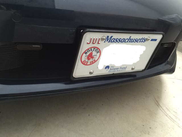 Front License Plate Designs
